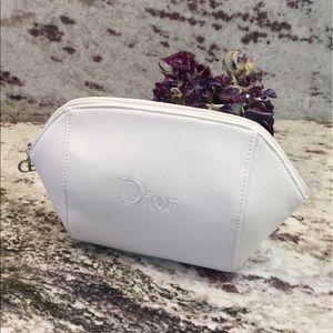 DIOR | Authentic saffiano leather cosmetics clutch